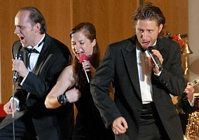 Reinwald Kranner, Caroline Vasicek-Pfeifer, Boris Pfeifer in 'All that Jazz'